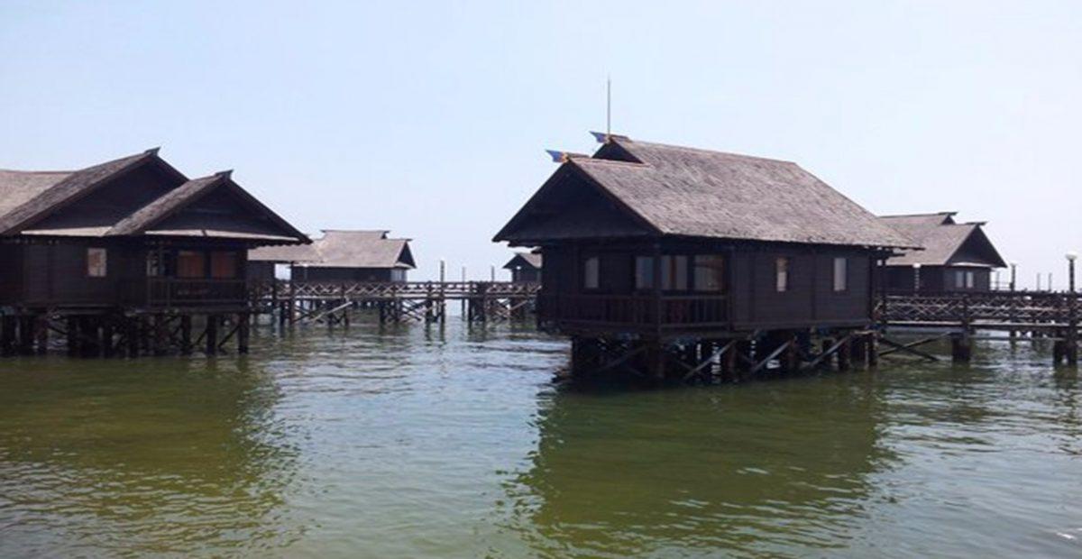 Bunggalow cottage pulau ayer kepulauan seribu jakarta