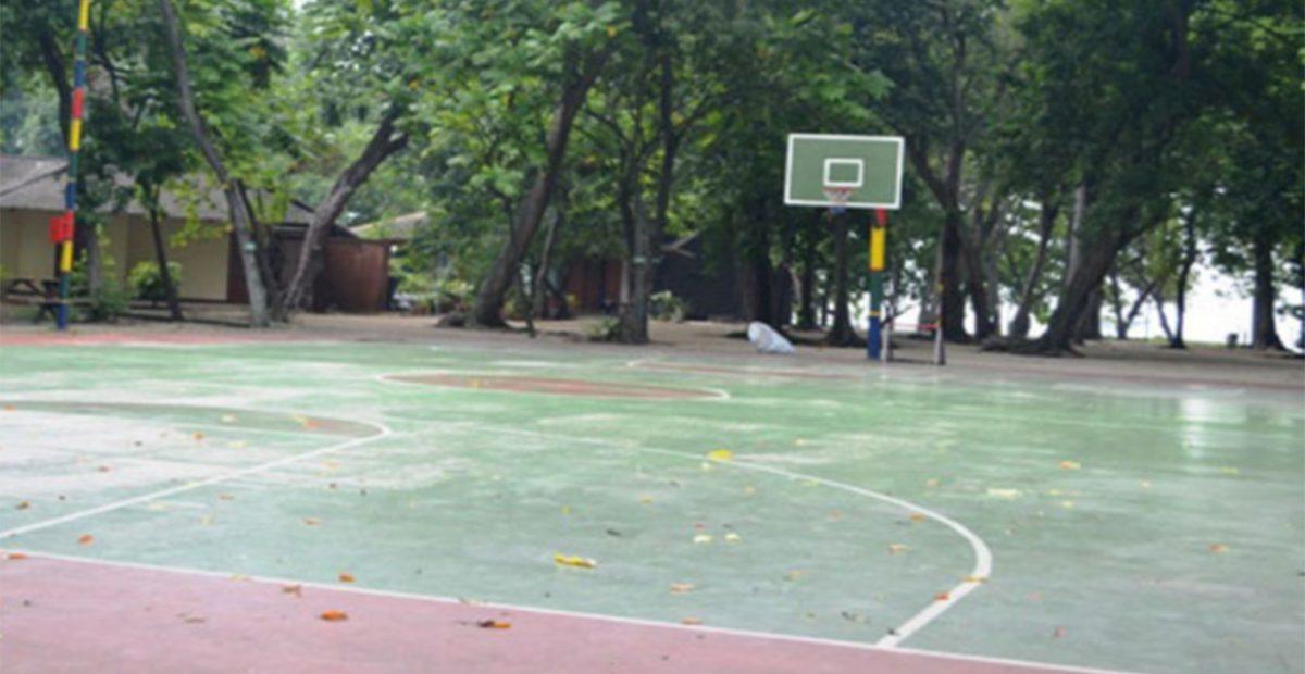 lapangan basket pulau ayer kepulauan seribu